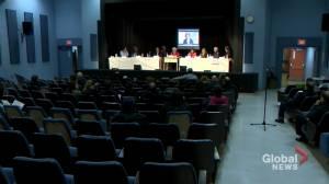 English school board elections facing criticism (02:37)