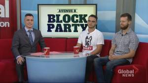 First-ever Avenue B Block Party