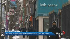 Coronavirus: Some Ontario businesses bemoan delay in reopening (02:22)
