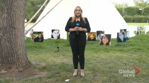 Saskatchewan seeks court order to remove teepee from legislature lawn