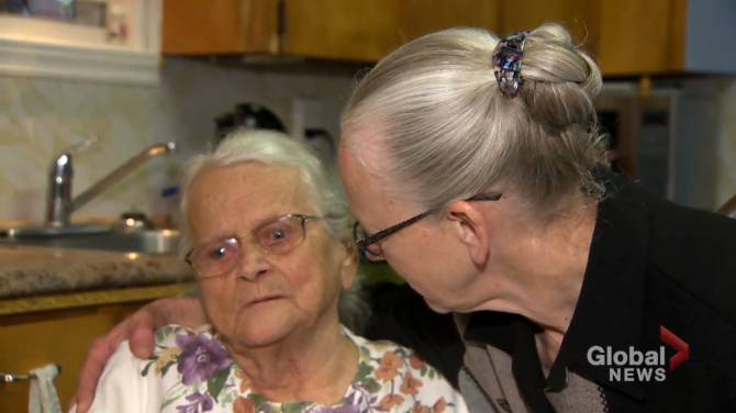 Click to play video: N.B. family relieved 90-year-old woman escaped house fire