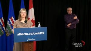 Alberta identifies 273 new COVID-19 cases, 16 deaths recorded on Monday (01:19)