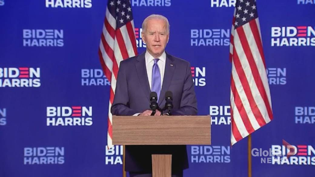 Click to play video 'U.S. election: Voter turnout contributing factor to Biden's victory'