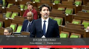 Nova Scotia shooting: Trudeau updates Parliament on investigation into deadly rampage (01:30)