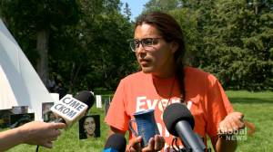 Saskatchewan government tells 'Walking With Our Angels' protest camp to leave Wascana Park