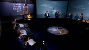 Manitoba provincial election leaders debate