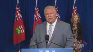 Ontario premier says Ontario 'in the midst of negotiating' after deal reached between Ford, Canadian auto workers