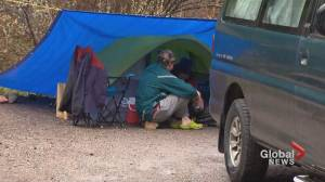 May long weekend comes to a soggy end for Kananaskis Country campers (01:32)