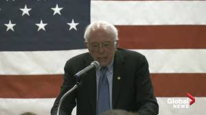 Sanders accuses Trump of leading U.S. into war with Iran (01:48)