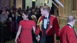 Harry and Meghan attend Royal Albert Hall music festival, one of their last public engagements (00:52)