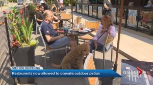 COVID-19: Toronto residents take advantage of limited patio reopening (02:21)
