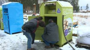 UBCO students redesign donation bins for safety issues