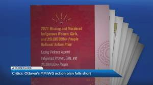 The Native Women's Association of Canada points to shortfalls in federal action plan for MMIWG (05:22)