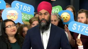 Federal Election 2019: Singh looks to Australia as model for lowering cellphone costs