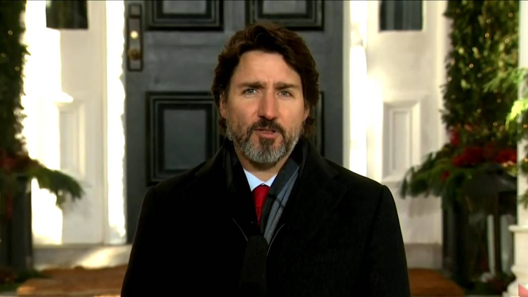 Click to play video 'Canada will 'pursue every avenue' to bring the 'Two Michaels' home, Trudeau says'