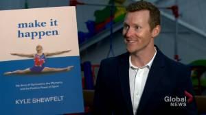 Canadian Olympic gymnast Kyle Shewfelt publishes memoir titled 'Make it Happen' (01:56)