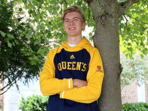 Queen's student Nicholas Hagermen donated part of his scholarship to charity