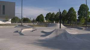 Brand new skate park opens up in south shore Brossard