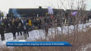 Understanding the mixed messages of the rail blockades