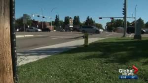 Edmonton mother calls for change after sons struck in crosswalks (01:51)