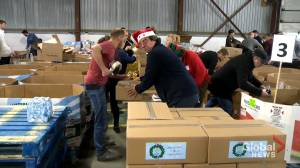 Moisson Montreal packs holiday food boxes for those in need