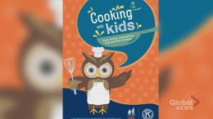 Calgary Police promoting cookbook for kids to benefit needy families over the holidays (04:15)