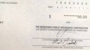 Manitobans start to receive MPI rebate cheques