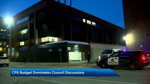 Calgary police budget discussions continue at City Hall on Thursday (01:39)