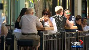 Temperatures on the rise as Calgary restaurants reopen patios (02:40)