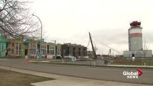 Families moving into Blatchford as development continues (01:42)