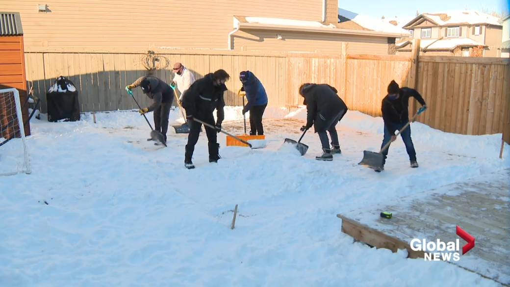 How to build the perfect backyard rink | Globalnews.ca