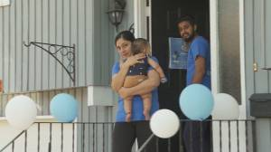 Baby Aryan's family gives back to others with sick kids (01:48)