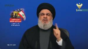 Hezbollah leader responds to Beirut, Syria attacks by warning Israel to be on 'high alert'