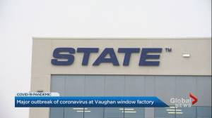 Second outbreak declared at Vaughan window facility (02:04)