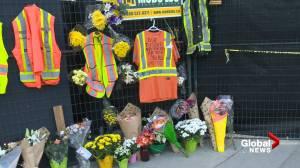 Vigil held for Kelowna crane collapse victims (02:48)