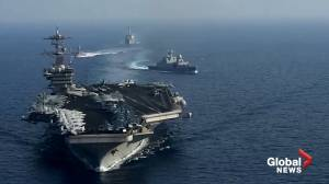 Captain of coronavirus-hit U.S. aircraft carrier pleads for help