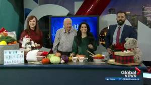 Helping Edmontonians with healthy holiday hampers