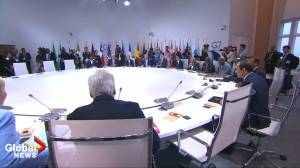 G7 leaders start climate change session without Trump