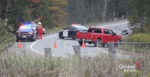 Motorcyclist dies following collision on County Road 507 in Trent Lakes (00:35)