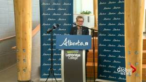 University of Lethbridge and Lethbridge College receive research funding from provincial government (01:47)