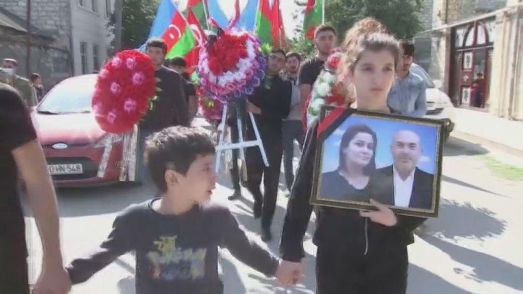 Click to play video 'Nagorno-Karabakh ceasefire strained as Armenia-Azerbaijan conflict heats up'