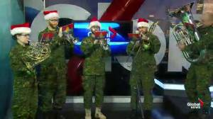 The Royal Canadian Artillery Band preps for Christmas concert