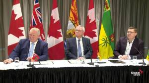Premiers note problem of jurisdictional rights of imposing carbon tax (04:28)