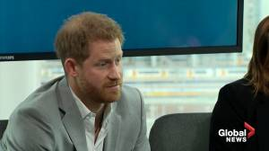 Prince Harry defends use of private jet while preaching lowering carbon emissions