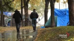 Questions remain over future of Montreal homeless camp (02:02)