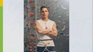 Professional rock climber Sean McColl talks about preparing for the Tokyo Olympics (04:27)