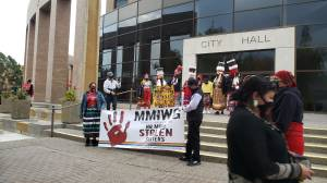 Sisters in Spirit vigil highlights need for more awareness about MMIWG in Lethbridge (01:46)