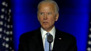 U.S. election: Biden pledges to be a president who 'seeks not to divide, but unify' (01:12)