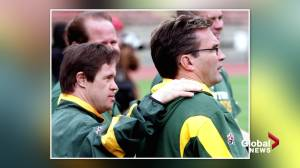 Joey Moss remembered as disabilities advocate, sports icon in Edmonton (01:45)