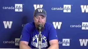 RAW: Blue Bombers Mike O'Shea Post Game – Aug. 21 (04:55)